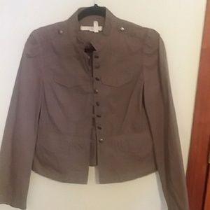 Ann Taylor Loft beautiful jacket Loop closure